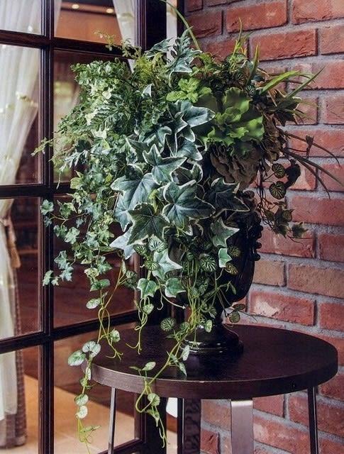 インテリア おしゃれな フェイクグリーン造花アレンジメント