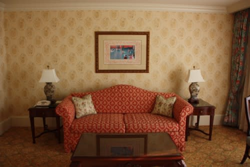 シンデレラルームの絵ランドホテル お出掛けしようそうしよう