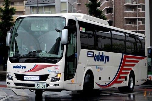 小田急箱根高速バスの新車 エア...