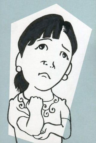 宮崎美子似顔絵イラスト画像