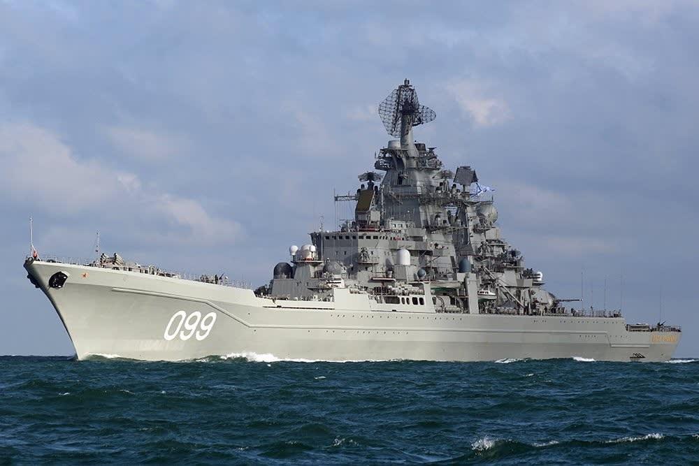 ロシア海軍 プロジェクト1144(キーロフ級ミサイル巡洋艦) ピョートル ...