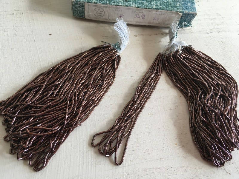 vintagebeads5 一分竹ビーズ 丸管 銅色